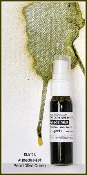 13 Arts Mist Pearl Olive Green